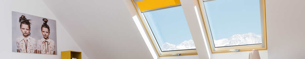 Energy efficient roof windows from FAKRO