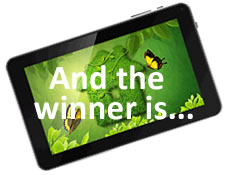 Win a tablet with Sterlingbuild