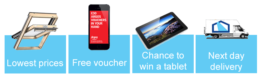 VELUX GGL 3050 Argos voucher & tablet sweepstake