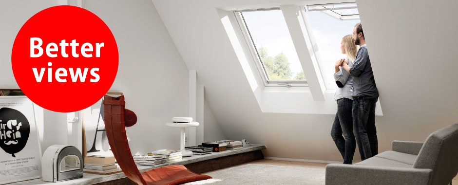 VELUX white paint windows | Better views