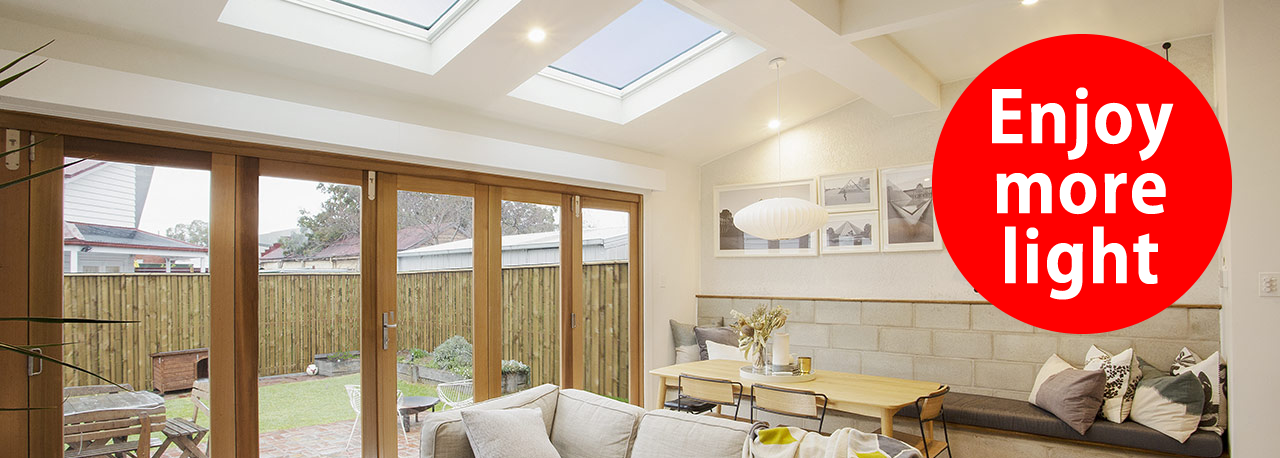 VELUX white paint windows | Natural light