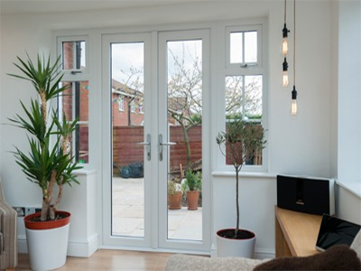 Crystal Direct uPVC French doors
