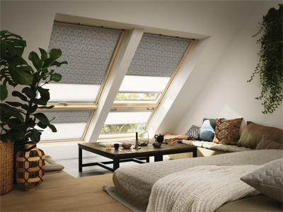 VELUX roof windows in lounge