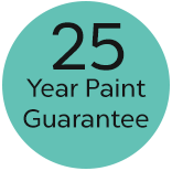 25 year paint guarantee