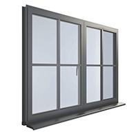 Bespoke uVPC and aluminium windows